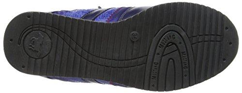 Mustang 5039401 - Zapatillas, Niños-Niñas Azul (800 Dunkel Blau)
