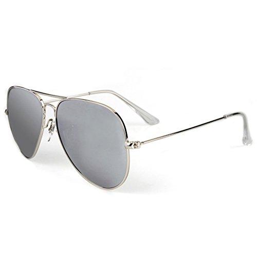 Sol C para Sol Gafas Cara De Hombre De La Color Espejo C Conducción Conductor GAOYANG De De Polarizada Redonda Larga Espejo Cara Conducción Personalidad Gafas De Espejo twzEqx4x