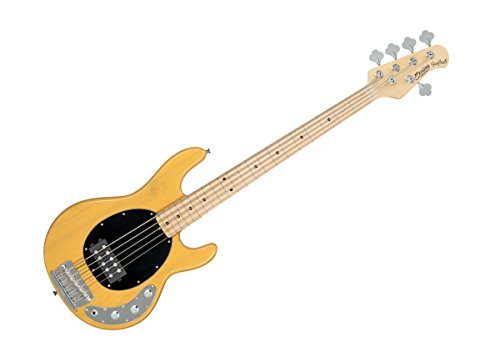 Sterling by Music Man Ray24CA Bass Guitar - Butterscotch/Hard Maple - RAY24CA-BSC-M1 DEMO
