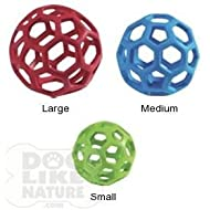 Tough By Nature Hol-ee Roller - Small by Dog Like Nature
