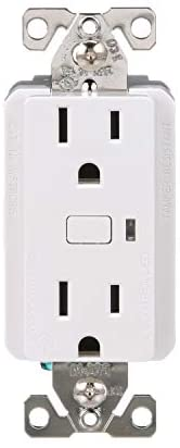 Eaton WFTRCR15-W-SP-L Wi-Fi Smart Receptacle Works with Alexa, White – A Certified for Humans Device