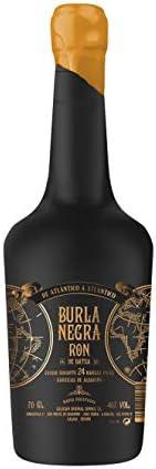Ron Burla Negra - Ron Pirata con Agua del Océano Atlántico, Sabor Diferente, Aroma Intenso, Notas Salinas, Beber Solo o Combinado, Perfecto para ...