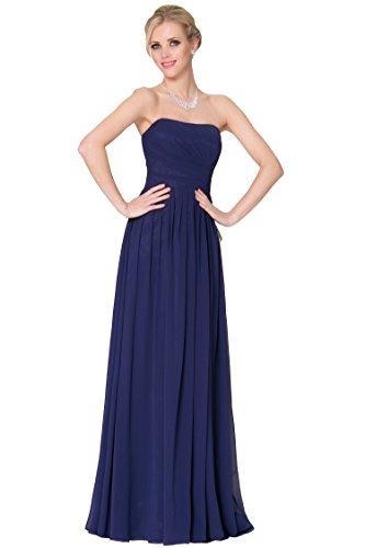 honor de de de 4 tipos damas cinco SEXYHER vestido de noche estilo 46SC DarkBlue3 1639 formal EDJ1635 w40znYq