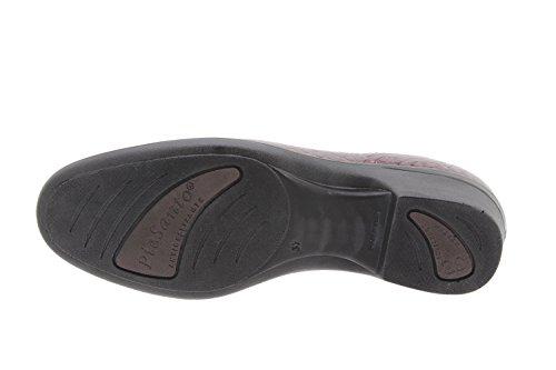 En Piesanto Cuir Amples Casual Chaussure Confort 9610 Moccasin Burdeos Femme Confortables UqRPtR