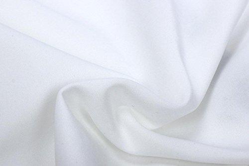 XUANOU Womens Long Sleeve Lace Blazer Suit Casual Jacket Coat Outwear (Large, White) by XUANOU (Image #4)