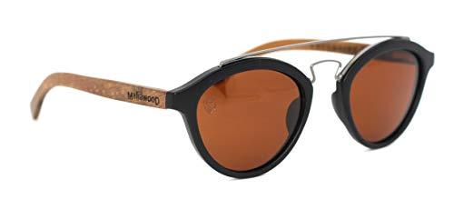 Óculos De Sol De Acetato Com Madeira Zafora, MafiawooD