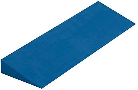 Yoga Studio Yoga Cuña - Azul, 50x15x5 cm, Cuña EVA Antideslizante para Iyengar Yoga, Accesorio Ejercicio Ligero