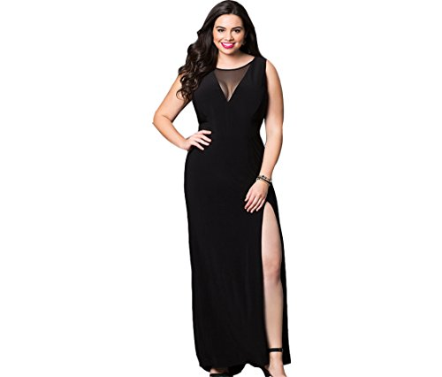 Selenaly Womens Split Formal Cocktail