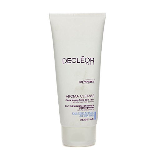 Decleor Aroma Cleanse 3-In-1 Hydra-Radiance Smoothing and Cleansing Mousse, 6.7 Ounce