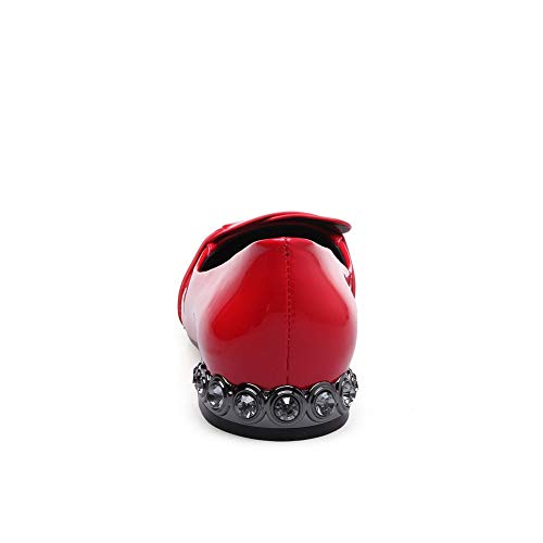 Sandales Femme 5 AN Rouge 36 Red DGU00725 Compensées TOxq5AS