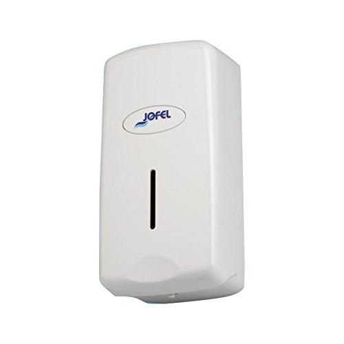 Jofel AC27050 - Dosificador de Jabón Smart Rellenable, 1 litro, ABS, Blanco: Amazon.es: Industria, empresas y ciencia