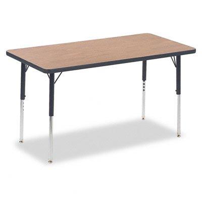 Virco Steel Activity Table - VIR482448084 - Virco 4000 Series Rectangular Activity Table