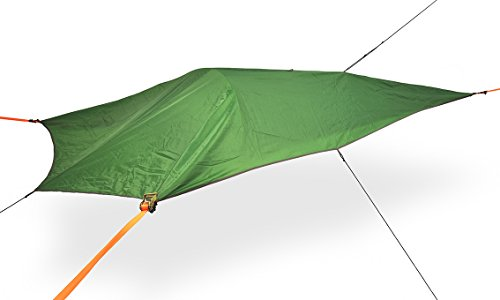 Tentsile UNA 1-Person All-Season Suspended Camping Tree Tent, Forest Green Rainfly