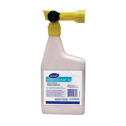 - Diversey Suma Dumpster Fresh Cleaner & Deodorizer (32-Ounce, 4-Pack)