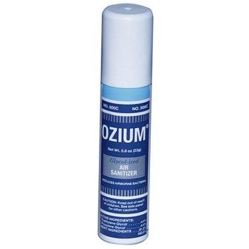 Ozium Bacteria Eliminating Air Sanitizer - .8oz Spray (Glycolized Air Sanitizer)