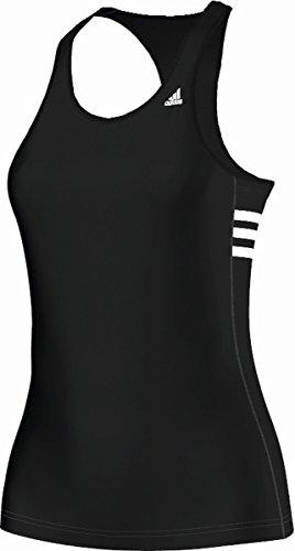 Adidas Tanktop Athletic Workout - Camiseta sin mangas de fitness para mujer negro