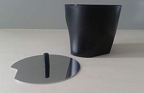 6.5 x 9.5 x 24 cm Silber Edelstahl Alessi Zuckerdose