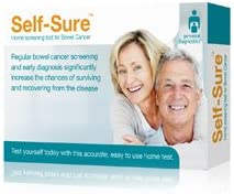Self Sure Home Screening Test For Bowel Cancer Amazon Co Uk Health Personal Care