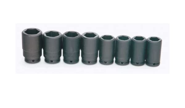 Williams WS-16-7H 6-Point Deep Impact Socket Set with 3//4-Inch Drive 7-Piece