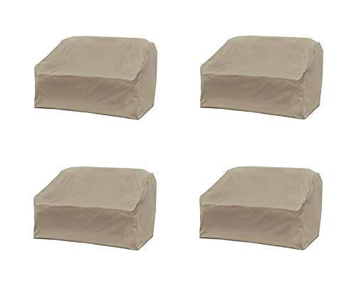 Modern Leisure Love Seat Cover, Weather & Waterproof Love Seat Cover (Pack of 4) by Modern Leisure (Image #2)