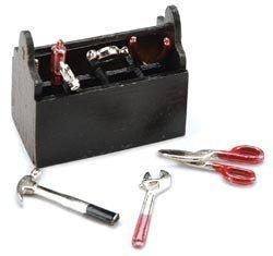 Darice-Timeless-Miniatures-Tool-Box-2309-04-Toolbox-and-tools-set