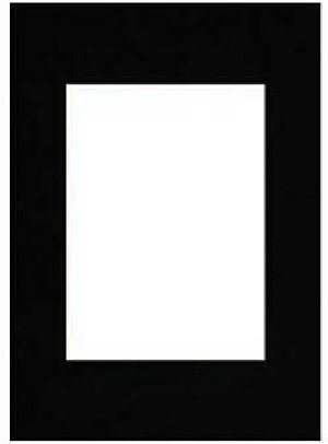 Hama Passepartout, Smooth Black, 18 x 24 cm Nero 63409
