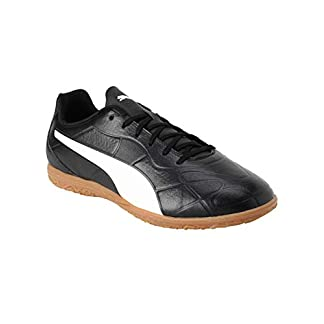 PUMA Herren Monarch IT Sneaker, Schwarz Black White, 43 EU 7