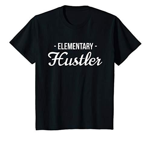 Kids Elementary Hustler shirt - Funny School Tshirt ()