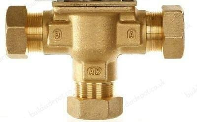 Honeywell 22mm 3 Port MID Position Zone VALVE Body ONLY *New*