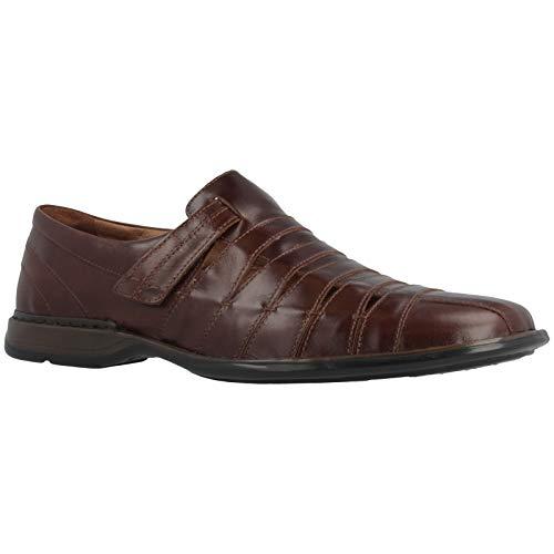 - Josef Seibel Mens Steven Leather Marone Shoes 9 US