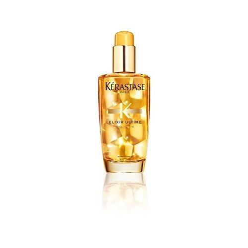 ケラスターゼエリクサーのヘアオイル(100ミリリットル) x2 - Krastase Elixir Ultime Hair Oil (100ml) (Pack of 2) [並行輸入品] B0722KHS8P