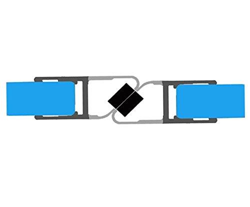 Lungo 195 cm Guarnizione magnetica//Guarnizione magnetica per doccia cos/ì come pareti divisorie di 8-10 mm // // Guarnizione per doccia Doccia Doccia schermo Divisorio doccia Cabina doccia