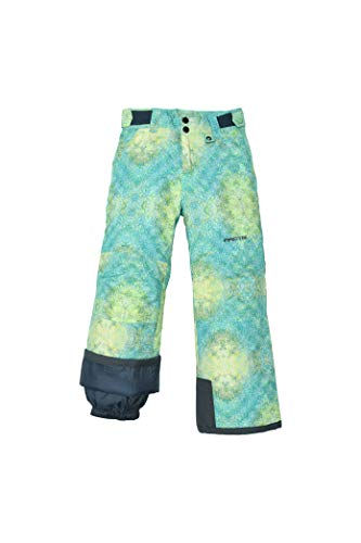 Arctix Women's Big Kids Youth Reinforced Snow Pants, Island Azure, - Snowboard Binding Hard Kids