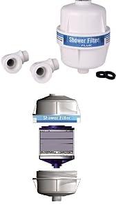 shower filter shower filter system filtro ducha kitchen a. Black Bedroom Furniture Sets. Home Design Ideas