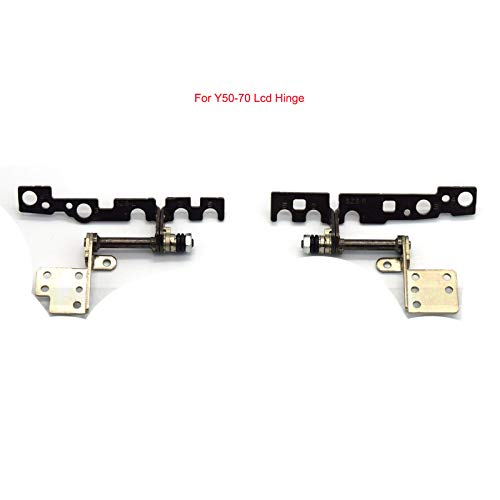 Compatible Replacement for Lenovo Y50-70 Laptop LCD Hinge Hinges Set ()
