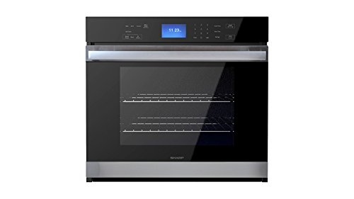 Sharp SWA3052DS 30 Inch 5 cu. ft. Total Capacity Electric Single Wall Oven