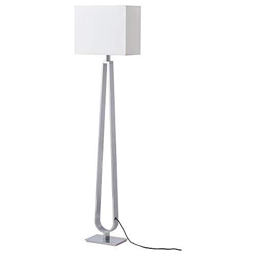 IKEA 404.167.33 Klabb Floor Lamp with Led Bulb, Off-White