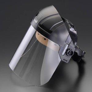 エスコ 370x210mmフェイスガード・スクリーン(EA800P用) EA800P-1
