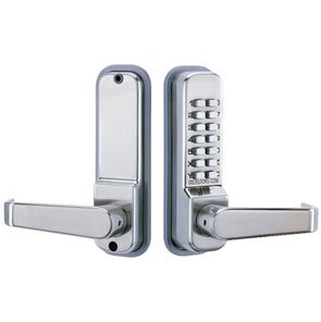Lovely Codelocks 410SS Mechanical Keyless Lock Exterior Door Hardware   Stainless  Steel