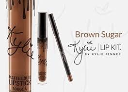 Lipstick Brown Sugar (Kylie Matte Liquid Lip Kit (Lipstick+ Lip Liner) (Brown Sugar))