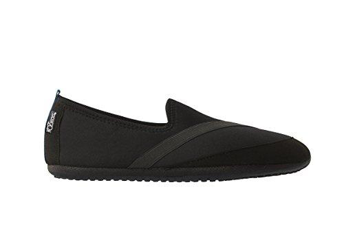 Pantofole Nere Stile Di Vita Attivo Fitkicks Kozikicks Mens Edition