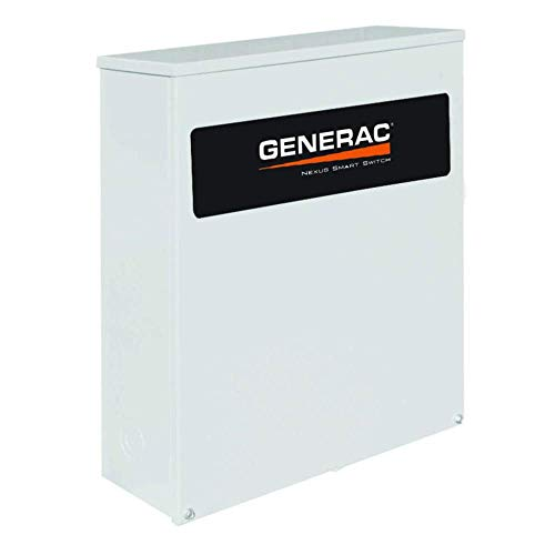 Genearc RXSC100A3 100 Amp 120/240 Single Phase NEMA 3R Smart Transfer Switch for Standby Generators