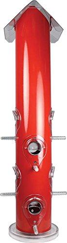 Perky-Pet Red Metal Tube Bird Feeder
