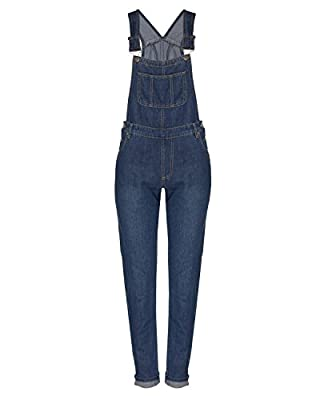 Instar Mode Women's Classic and Distressed Skinny Jumpsuit Overalls in Various Styles