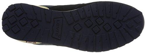Levi'sNy Runner - Zapatillas de Deporte hombre azul - Bleu (17 Navy Blue)