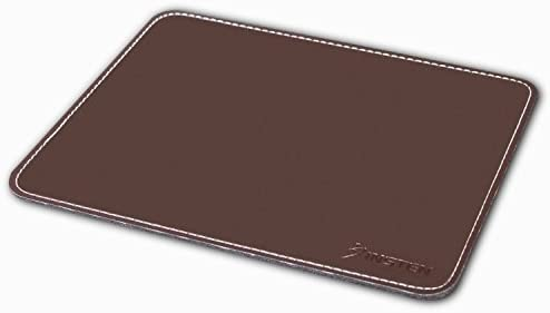 Gift for Office Brown Laptop Mouse Pad Natural Maroon Mouse Pad Gray Leather Mouse Pad Personalized Leather Mouse pad
