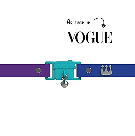 Visto en Vogue. Collar para Gato Monte Carlo de Kittyrama. Galardonado Cat Friendly