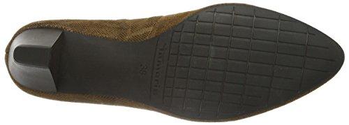 Tamaris 22414, Zapatos de Tacón para Mujer Marrón (COGNAC STRUCT. 331)