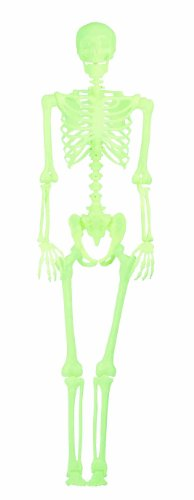 Glow In The Dark Pose-N-Stay Skeleton