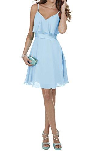 Ivydressing A Spaghetti Linie V Blau Promkleid Abendkleid Damen Ballkleid Ausschnitt qq7Cp
